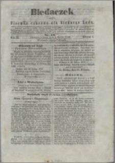 Biedaczek : czyli mały i tani tygodnik dla biednego ludu, 1850.03.02 R. 3 nr 18