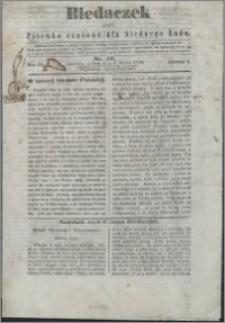 Biedaczek : czyli mały i tani tygodnik dla biednego ludu, 1850.03.06 R. 3 nr 19