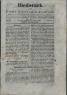 Biedaczek : czyli mały i tani tygodnik dla biednego ludu, 1850.04.06 R. 3 nr 1