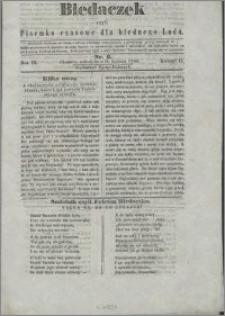 Biedaczek : czyli mały i tani tygodnik dla biednego ludu, 1850.04.24 R. 3 nr 6
