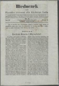 Biedaczek : czyli mały i tani tygodnik dla biednego ludu, 1850.05.01 R. 3 nr 8