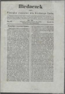 Biedaczek : czyli mały i tani tygodnik dla biednego ludu, 1850.05.25 R. 3 nr 14