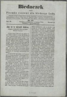 Biedaczek : czyli mały i tani tygodnik dla biednego ludu, 1850.06.05 R. 3 nr 17