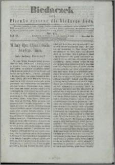Biedaczek : czyli mały i tani tygodnik dla biednego ludu, 1850.06.12 R. 3 nr 19
