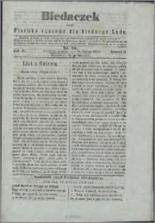 Biedaczek : czyli mały i tani tygodnik dla biednego ludu, 1850.06.15 R. 3 nr 20