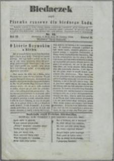 Biedaczek : czyli mały i tani tygodnik dla biednego ludu, 1850.06.19 R. 3 nr 21