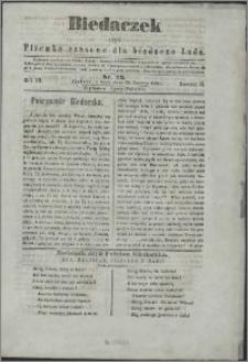 Biedaczek : czyli mały i tani tygodnik dla biednego ludu, 1850.06.26 R. 3 nr 23