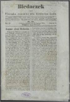 Biedaczek : czyli mały i tani tygodnik dla biednego ludu, 1850.06.29 R. 3 nr 24