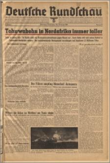 Deutsche Rundschau. J. 67, 1943, nr 11