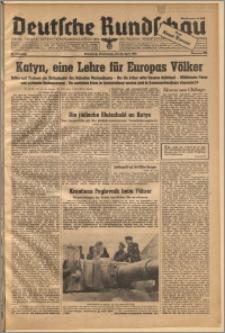 Deutsche Rundschau. J. 67, 1943, nr 100