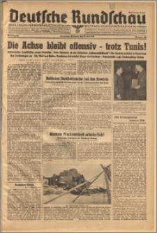 Deutsche Rundschau. J. 67, 1943, nr 123
