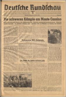 Deutsche Rundschau. J. 68, 1944, nr 31