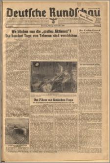Deutsche Rundschau. J. 68, 1944, nr 67