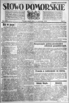 Słowo Pomorskie 1921.11.25 R.1 nr 270