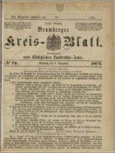 Bromberger Kreis-Blatt, 1874, nr 72