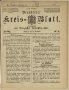 Bromberger Kreis-Blatt, 1874, nr 92