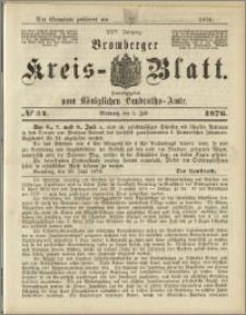 Deutsche Rundschau in Polen. J. 47, 1923, nr 54