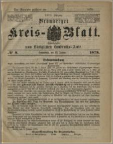 Bromberger Kreis-Blatt, 1878, nr 8