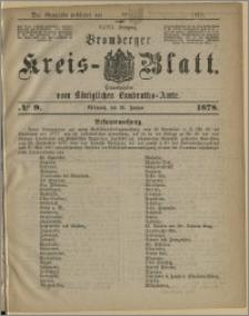 Bromberger Kreis-Blatt, 1878, nr 9