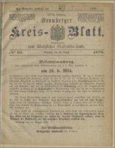 Bromberger Kreis-Blatt, 1878, nr 65