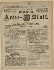 Bromberger Kreis-Blatt, 1879, nr 12