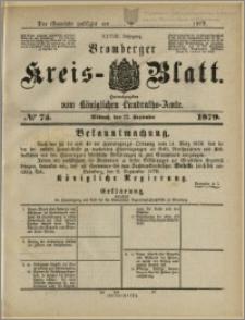 Bromberger Kreis-Blatt, 1879, nr 75