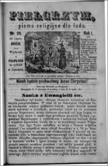 Pielgrzym, pismo religijne dla ludu 1869 rok I nr 29
