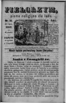 Pielgrzym, pismo religijne dla ludu 1869 rok I nr 30