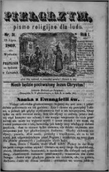 Pielgrzym, pismo religijne dla ludu 1869 rok I nr 31