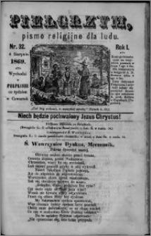 Pielgrzym, pismo religijne dla ludu 1869 rok I nr 32