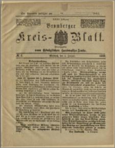 Bromberger Kreis-Blatt, 1882, nr 1