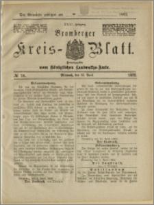 Bromberger Kreis-Blatt, 1882, nr 29