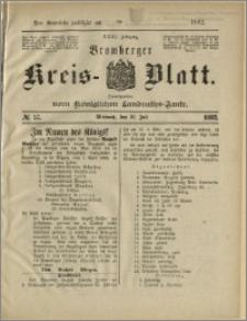 Bromberger Kreis-Blatt, 1882, nr 57