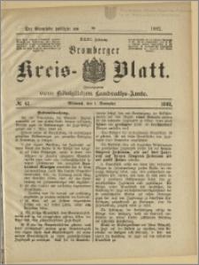 Bromberger Kreis-Blatt, 1882, nr 87