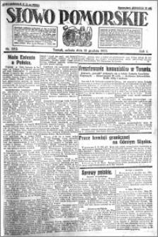 Słowo Pomorskie 1921.12.10 R.1 nr 282