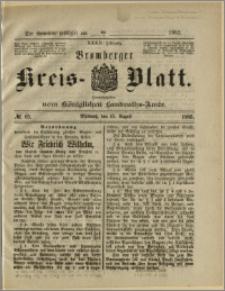 Bromberger Kreis-Blatt, 1883, nr 65