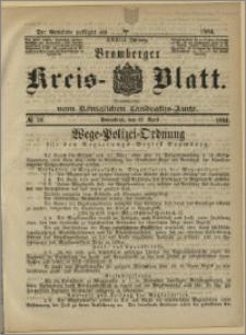 Bromberger Kreis-Blatt, 1884, nr 30
