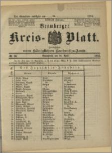 Bromberger Kreis-Blatt, 1884, nr 34