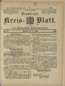Bromberger Kreis-Blatt, 1884, nr 65