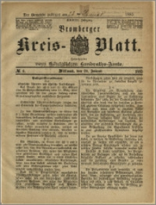 Bromberger Kreis-Blatt, 1885, nr 6