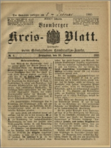 Bromberger Kreis-Blatt, 1885, nr 9