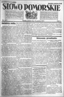 Słowo Pomorskie 1921.12.16 R.1 nr 287