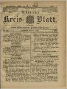 Bromberger Kreis-Blatt, 1885, nr 29