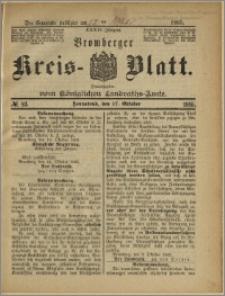 Bromberger Kreis-Blatt, 1885, nr 83