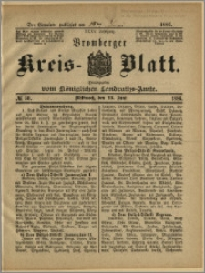 Bromberger Kreis-Blatt, 1886, nr 50