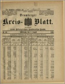 Bromberger Kreis-Blatt, 1886, nr 62