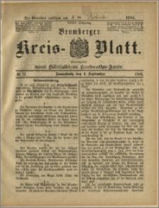 Bromberger Kreis-Blatt, 1886, nr 71