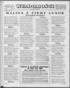 Wiadomości, R. 13 nr 23 (636), 1958