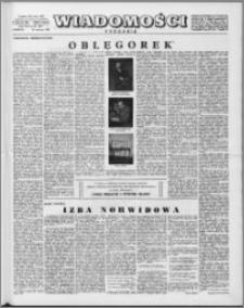 Wiadomości, R. 13 nr 24 (637), 1958