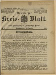 Bromberger Kreis-Blatt, 1887, nr 8